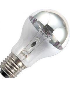 Kopspiegel 75 watt Zilver