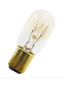 Schakelbordlamp 15 watt B15d