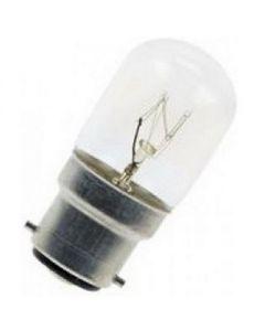 Schakelbordlamp 15 watt B22d Helder