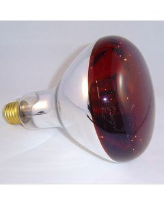 infrared  r125-150w  softglas e27 rood
