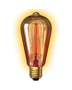 filament rust. 35w   e27 64x140mm goldl.