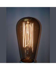 Rustika Lamp Rookglas 60 watt
