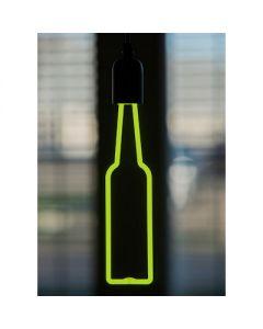 LED neon fles groen