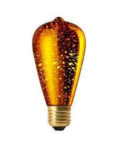 led cosmos edison    4w e27 n/dim.gold