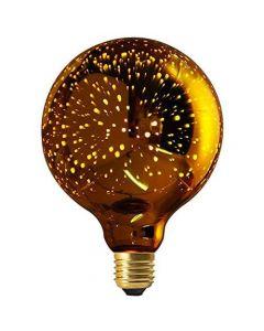 led cosmos globe125  4w e27 n/dim.gold