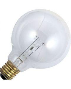 Globe 100 watt Helder 95mm.