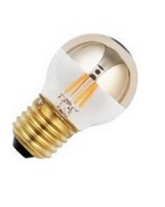 Led Kogel Kopspiegel 4w. E14 Goud