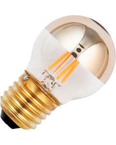 Led Kogel Kopspiegel 4w. E27 Goud