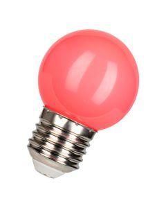 Bailey  Gekleurde LED Lamp Kogel E27 Roze