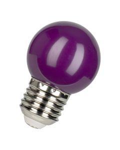 Bailey  Gekleurde LED Lamp Kogel E27 Paars