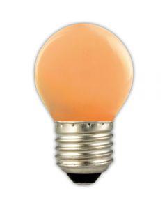Calex  Gekleurde LED Lamp Kogel E27 Oranje