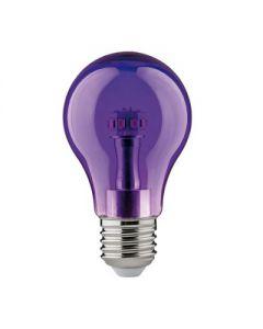 Paulmann Gekleurde Led Lamp Standaard A60 E27 Paars