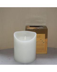 MovinFlame LED Kaars White 15 x 18cm