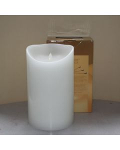 MovinFlame LED Kaars White 15 x 25cm