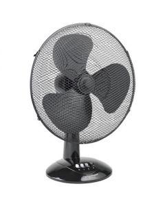 Ventilator tafel zwart 45cm