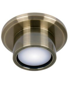 Verlichtingset voor PlafondventilatorAirfusion Climate DC Fan Light Kit Antique Brass