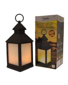 Sfeervolle Tuinlamp met vlam effect