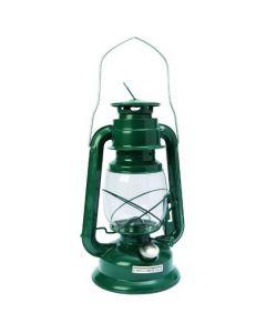 Stormlantaarn op lampenolie groen