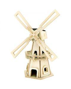 Houten windmolen