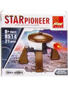 Bouwset Space bruin 21dlg