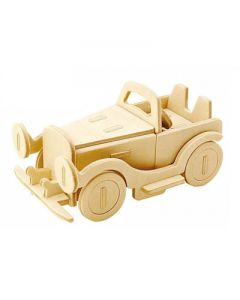 3d puzzel klassieke auto