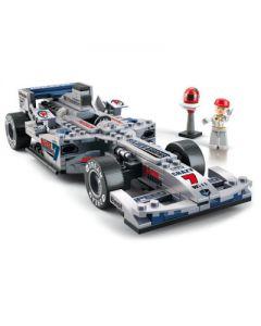BOUWSTENEN: RACE AUTO ZILVER