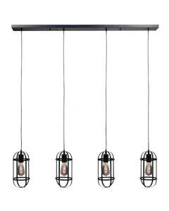 Hanglamp  Longo Zwart
