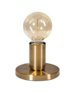 tafellamp base e27   vintage goud
