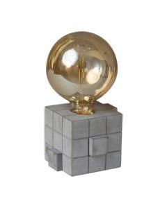 tafellamp rubix      1 x e27 beton grijs