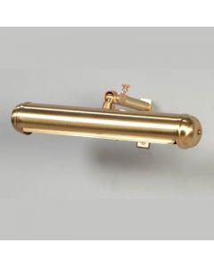 schilderijlamp       22cm mat goud