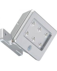 led opbouw lamp buiten grijs