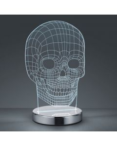 Tafellamp Led skull 7 Watt  3000-6500k