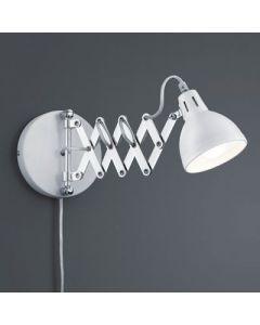 Wandlamp schaar   1 x E14  wit