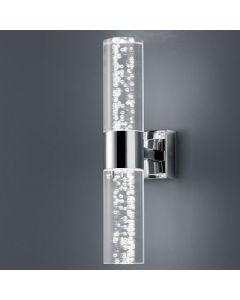 Wandlampbolsa Led 2x 3.2 Watt badkamer 3000k