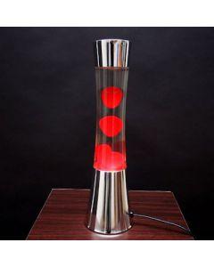 lavalamp groot       chroom/rood